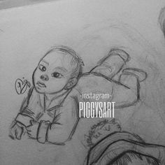 draw drawing drawings sketch body sketchbook beautiful fanart art artistic illustration pinterest photo hairstyle boy pijamas animation personajes bestphoto fashion piggysart baby valentine's day cute smile one baby child butt babybutt baby asian pijamas