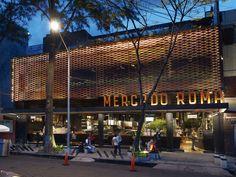 Jaula metálica para un mercado en México