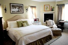 Small Master Bedroom Design Ideas with Beautiful Bed Cover