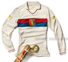 Genoa CFC 100th Anniversary Away Soccer Jersey / Football Kit / Maglie
