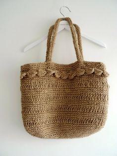 No.6 Linen Tote Bag