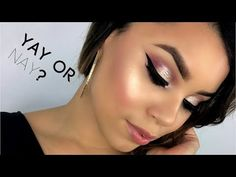 YAY OR NAY?! TOO FACED CHOCOLATE GOLD PALETTE REVIEW + TUTORIAL | PATRYYCIAH - YouTube Gold Eyeshadow Palette, Gold Palette, Eye Palette, Eyeshadow Ideas, Chocolate Gold, Tanning Cream, Younger Looking Skin, Eye Make Up, Skin Treatments