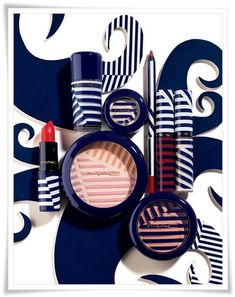 MAC's Hey Sailor! Collection launching on May 24...It's like they know how to trap me...!
