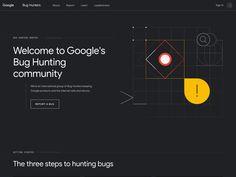 Google Bug Hunters - bughunters.google.com Hunters, Bugs, Community, Website, Learning, Google, Beetles, Studying, Teaching