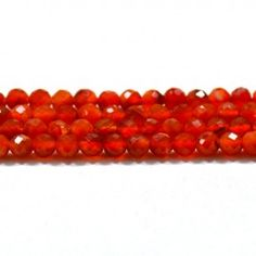 Get the best natural Carnelian Gemstone beads from African Mines. Available in clear faceted cut beads. A bead measures from 9mm to 12mm