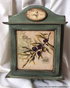 Rustic Serving Trays, Decoupage Box, Altered Boxes, Wooden Boxes, Shabby Chic, Photo Wall, Clock, Furniture, Keys