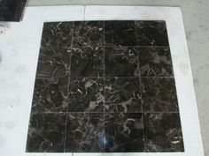 new emperador marble 10mm thick tile, calibrated and bevel