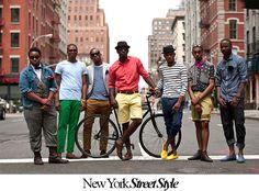 New York street style for men