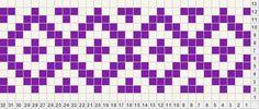 2 Color Fair Isle 11-row 8-stitch repeat
