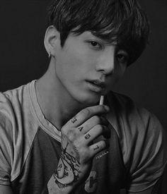 BTS Jungkook with Tattoos credits to remvian for the wonderful work of this handsome man :) Jimin Jungkook, Taehyung, Jungkook Fanart, Foto Bts, Bts Photo, Bts Tattoos, Jeongguk Jeon, Bts And Exo, Bts Edits