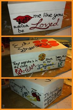 Ed sheeran box! Birthday Presents For Men, Presents For Best Friends, Presents For Boyfriend, Birthday Gifts For Best Friend, Sweet 16 Birthday, Man Birthday, Best Friend Gifts, Christmas Presents, Holiday Gifts