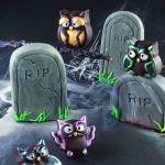 Pralinen Eulen #Halloween