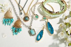 HAUTELOOK - Olivia Welles Jewelry Blowout! - Fiery reds. Cool blues. Earthy greens. This radiant collection by Olivia Welles is saturated in poppy spring shades. From chain link bracelets that beg to be stacked, to unabashedly elegant teardrop earrings, this spirited event brings endless vibrancy to your jewelry box. Team these eye-popping picks with your favorite looks and watch heads turn.