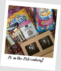 Thoughts That Stick..... : You're So Sweet - 21st Birthday Gift Package