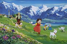 알프스의 소녀 하이디 (アルプスの少女ハイジ : Heidi, Girl of the Alps) - 1974