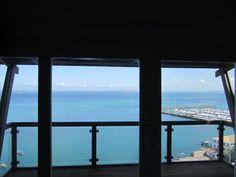 do meu quarto vejo a baía de Todos os Santos
