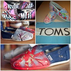 Get creative and customize your TOMS !
