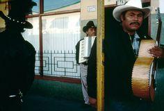 Alex Webb  MEXICO. Tijuana. 1999. Mariachi band.
