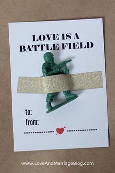 Free Boy Valentines Printable + More fun, creative ideas!!