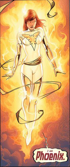 The White Phoenix rt by: Adam Kubert Its in Avengers vs X-Men issue 12 that…