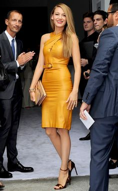 Blake Lively is perfection at Milan #Fashion Week's Gucci show!