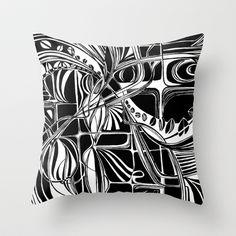 B Throw Pillow by Sarah Saeed - $20.00