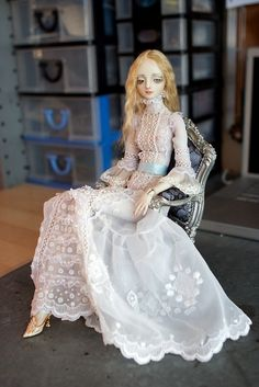 The White dress side project by cisley, via Flickr