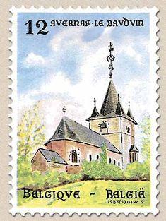 Belgian Stamps Tourisme. Avernas -le-Bauduin