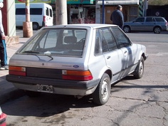 Laser models were imported to Argentina in 1981/2. Nowadays it's a very rare car to see.     http://choxeviet.com/Cho-oto.aspx  http://choxeviet.com/ford/-i22/laser-j292.aspx
