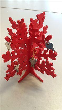 sieradenboom of sleutelhangerboom. gefiguurzaagd in de laatste 3 lessen van het jaar.
