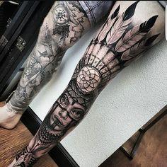 Tattoo work by #morefollowersmonday artist: @braddoulttattooartist!!!)…