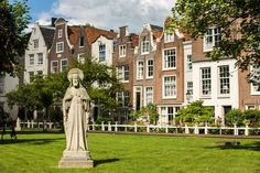 Begijnhof, Amsterdam - RueBaRue