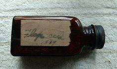 9 Varied Early Antique Vintage Medical Cure Vials Bottles