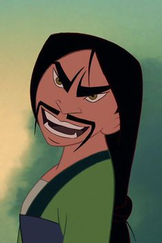 Mulan and Shan Yu | This Is What Disney Heroes And Villians Look Like With Their Faces Swapped