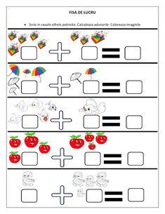 fise de lucru clasa pregatitoare - Căutare Google Dyslexia Activities, Kindergarten Math Worksheets, Preschool Activities, Numbers Preschool, 1st Grade Math, Math For Kids, Kids And Parenting, Teaching Kids, Mathematics