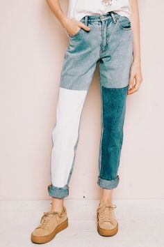 Jeans || LisanneBaks_ -> the contrast in these jeans are are a DIY must for my next pair waiting to be revamped