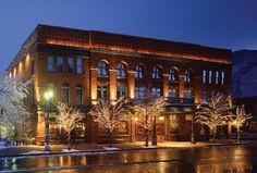 """Located in Aspen is the posh and historic Hotel Jerome; """"Aspen's crown jewel"""" that """"offers the perfect retreat from which to explore the region's abundant outdoor attractions and world-class dining and shopping."""""""