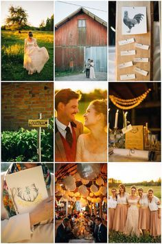 Cool Swedish Barn Wedding with Quirky DIY Decor