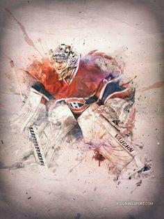 That made made play hockey as goalie Rangers Hockey, Blackhawks Hockey, Hockey Goalie, Hockey Teams, Hockey Players, Chicago Blackhawks, Goalie Pads, Montreal Canadiens, Hockey Girls