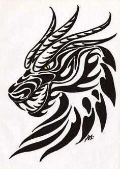 Wood-Burning Free Dragon Stencil | Pinterest • ein Katalog unendlich vieler Ideen