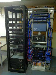 Good looking server room!