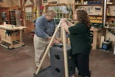 How to Build a Cat Tree and Scratching Post • Ron Hazelton Online • DIY Ideas & Projects