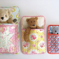 Three Bears' Sleeping Bag Pattern