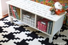 sharpieartcoffeetable thumb 6 DIY Furniture Projects & Patting Yourself on The Back