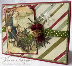 Scraps of Life: Let's Make Some Christmas Cards!