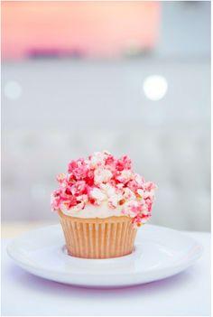 Pink Popcorn Cupcake @ American Cupcake