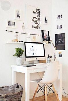 cool pretty desk area inspiration