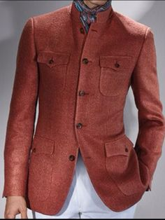 Paul Stuart - Raw Silk Niven Jacket, Men's Spring Summer Fashion.
