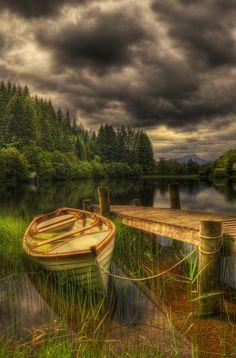 Loch Ard Jetty | Trossachs Lord Ard | Scotland | Photo By Don Alexander Lumsden