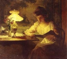 French painter Marcel Rieder (1862-1942)